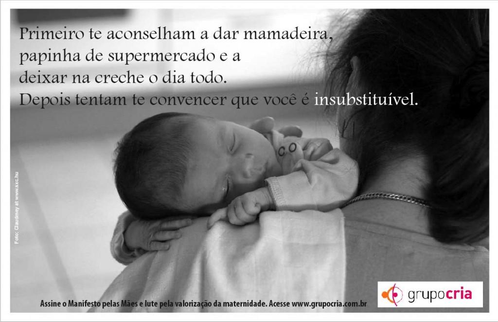 Mãenifesto Grupo Cria Mães Pela Amamentação