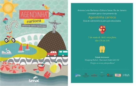 Lançamento do livro: Agendinha Carioca