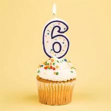 Completamos 6 anos de existência!